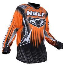 Wulfsport Orange (All Sizes) Motocross Enduro Adult Race Shirt Jersey Ktm Sx Exc