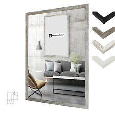 Bilderrahmen Malmo Holz MDF Foto Poster Rahmen Modern Kantig 60 Größen