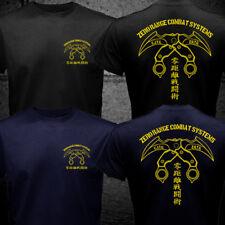 Japan Zero Range Combat Fight Systems Reborn Movie Karambit Silat Kali T-shirt