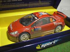 Voiture SLOT PEUGEOT 307 WRC WORKS 2004 #16 au 1/32 SCALEXTRIC C2561A