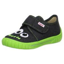 SUPERFIT Kinder Hausschuh Sneaker Monster BILL 00270-02 schwarz Gr.23-38