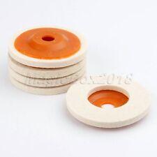 100mm Wool Felt Buffing Wheel Disc Pads Grinding Polishing Abrasive Rotary Tool