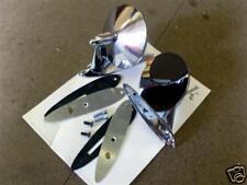 Chrome & miroir porte en acier inoxydable set, Mazda MX-5 MK1, Eunos, MX5, nouveau, s / s