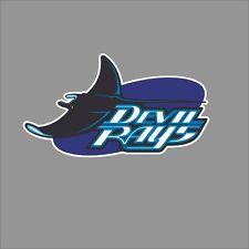 Tampa Bay Rays #16 MLB Team Logo Vinyl Decal Sticker Car Window Wall Cornhole