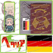 HETALIA AXIS POWERS MASCOT Passport Omikuji GERMANY Germania Portachiave