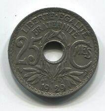 25  CENTIMES LINDAUER 1929