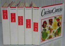 5v. Enciclopedia CURCIO CUCINA contorni dolci ricette cucinare zuppe antipasti