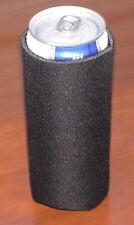 Michelob Ultra Koozie slim can cooler black NEW -