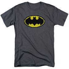 Batman Pixel Symbol T-shirts & Tanks for Men Women or Kids