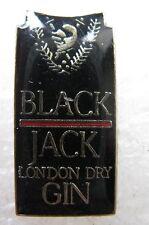 Pin's  Alcool Black Jack London Dry Gin  (Réf:893)