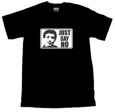 Just Say No Zammo T-SHIRT ALL SIZES # Black