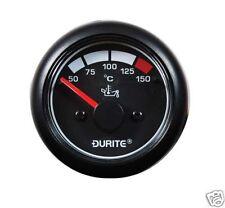 DURITE 525-15 12/24V LED OIL TEMPERATURE MARINE GAUGE