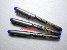 3 x Pilot Vpen V-Pen Disposable Medium Nib Fountain Pen, Blue