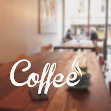 cafetería pegatina para pared restaurante vinilo cof13