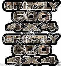Grizzly 600 4x4 Camo Gas Tank Graphics Decal Sticker Atv Quad plastic car window