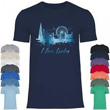 Royal Shirt rs106 Herren T-Shirt I love London | UK England Städtetrip Skyline
