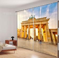 3D Pretty Door Blockout Photo Curtain Printing Curtains Drapes Fabric Window CA