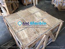 Marble Tiles, Emperador Polished Marble Flooring, 305x305mm Limestone Travertine