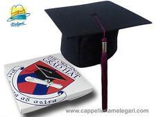 "cappello da laurea ""tocco"" tesi di laurea università Original Grad Hat viola"