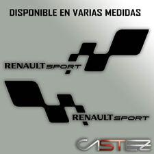2 sticker PEGATINA renault sport racing rally tuning coche  vinilo decal vinyl
