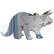 Dinosaurio Triceratops Espejo Acrílico Dormitorio Infantil secoración de pared