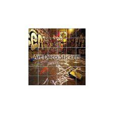 Sticker carrelage mural, faience, déco cuisine ou salle de bain Tag réf 831