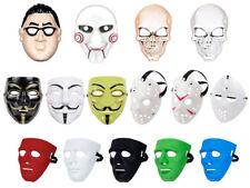 Masque horreur en plastique pour déguisement adulte ado homme femme fille garçon