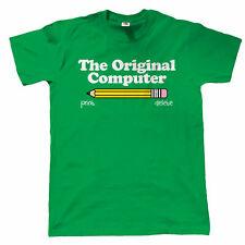 Il COMPUTER ORIGINALE Da Uomo Divertente T Shirt-Regalo Per Papà IT WEB Developer Codificatore