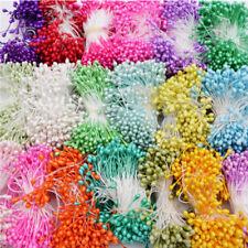300Pcs Double Heads Artificial Mini Pearl Flower Stamen Wedding Party Decoration