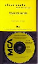 STEVE EARLE Promise you anything PROMO DJ CD Single 90