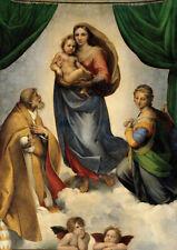Raphael: la Madonna Sixtina. cartel/impresión de arte (0019330)