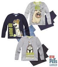 Boys SECRET LIFE OF PETS Long Sleeves Pyjama Set Age 4,6,8,10,