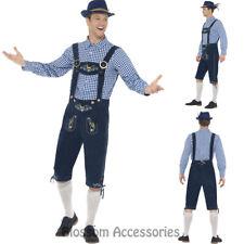 CL972 Traditional Rutger Lederhosen Bavarian Costume Oktoberfest Beer Costume