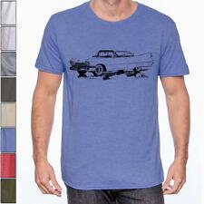 1959 CADILLAC DEVILLE American Classic Car Soft Cotton T-Shirt Multi Colors