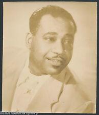 1940's - 50's Original Jazz / R&B Artist African American ~ Photo