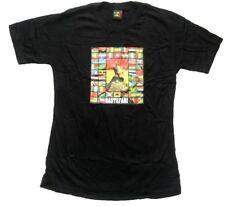 MISTER BANG T-Shirt Rastafari bandiere Slim Fit Nero