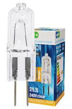 GY6.35 240V Clear Halogen Capsule Bulbs 30w 35w 50w