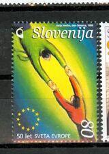 SIMBOLI - EMBLEMS SLOVENIA 1999 50th Europa