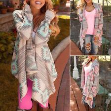 Boho Women Casual Knitted Cardigan Coat Jacket Outwear Loose Sweater Outwear