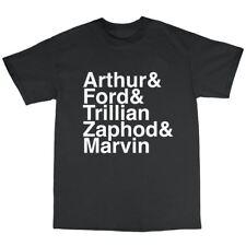 Hitchhiker's Douglas Adams T-Shirt 100% Premium Cotton 42 Fourty Two