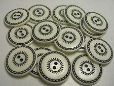 Lots of 12 New White Sun designer Italian Buttons 5/8, 7/8, 3/4, blazer sets U13