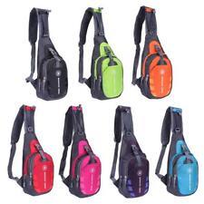 Waterproof Unisex Chest Bag Outdoor Sport Travel Shoulder Sling Backpack Pouch