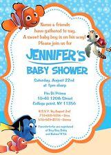 Finding Nemo Baby Shower Invitation, Nemo, Fish, Boy, Baby Boy, Baby, Party