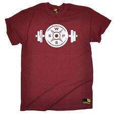 Diseño De Mancuernas Peso Para hombre SWPS T-Shirt padres día Ejercicio Entrenamiento Estado físico