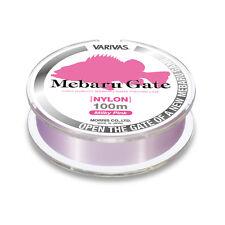 * VARIVAS Mebaru Gate (for Rock Fish Line) Nylon 100m. Milky Pink.