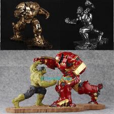 Hulk VS MK44 Resin Figurine Statue Painted Sculpture Painted Hulkbuster Model
