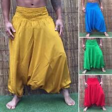 Boho plage festival hippy hippie baggy yoga sarouel pantalon combinaison