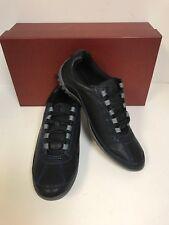 Donald Pliner Far-TQ01 Black Tumbled Fashion Athletic Shoes - Men's
