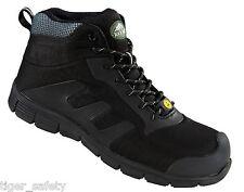 Rock Fall TeslaDri RF120 Vegan Friendly Black S3 ESD Composite Toe Safety Boots