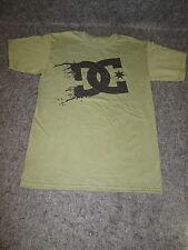 Hombre DC Moda Informal skate bmx mx camiseta S a XL XXL verde {DC55}